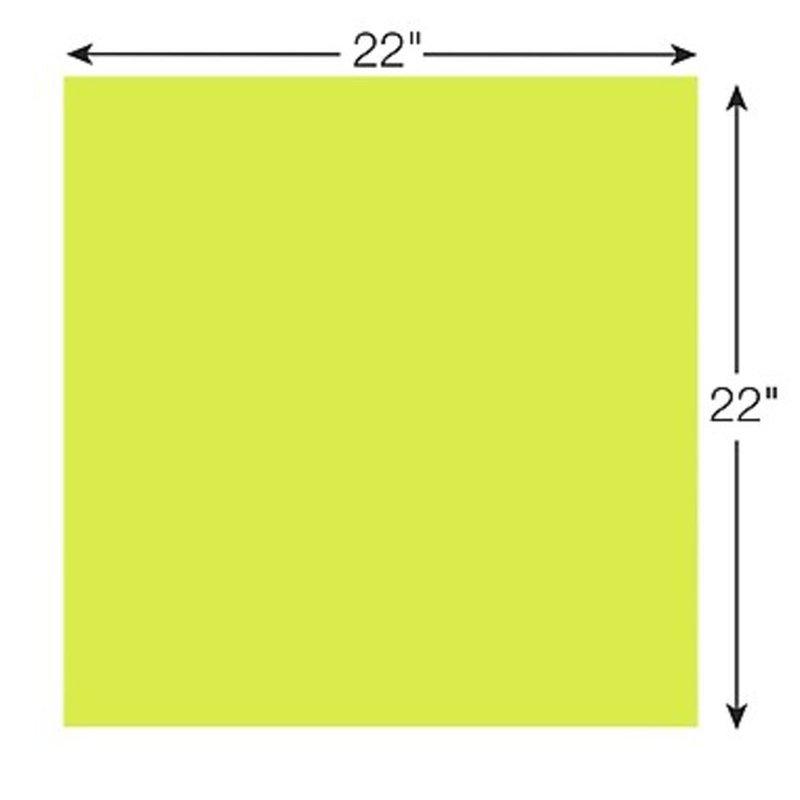 "Post-it 22""x22"" Neon Green Super Sticky Big Note"
