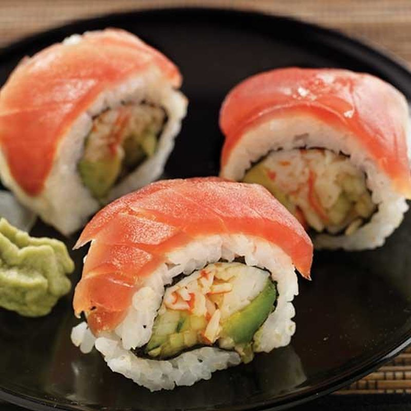 S. Tsunami Afc Sushi Red Chili Roll, Prepared In Store, Ready To Eat