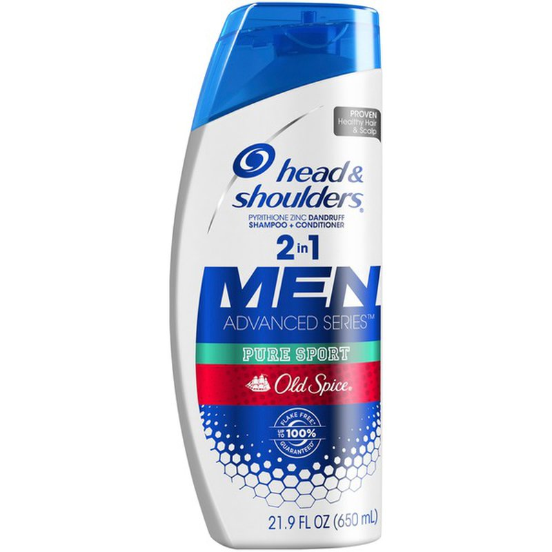 Head & Shoulders Head And Shoulders Old Spice Pure Sport Anti-Dandruff 2 In 1
