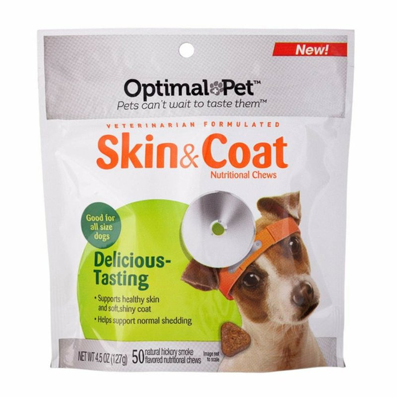 Nutri-Vet Nutritionals Optimal Pet Skin & Coat Soft Chew Supplement For Dog