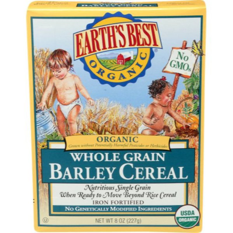Earth's Best Organic Whole Grain Barley Cereal
