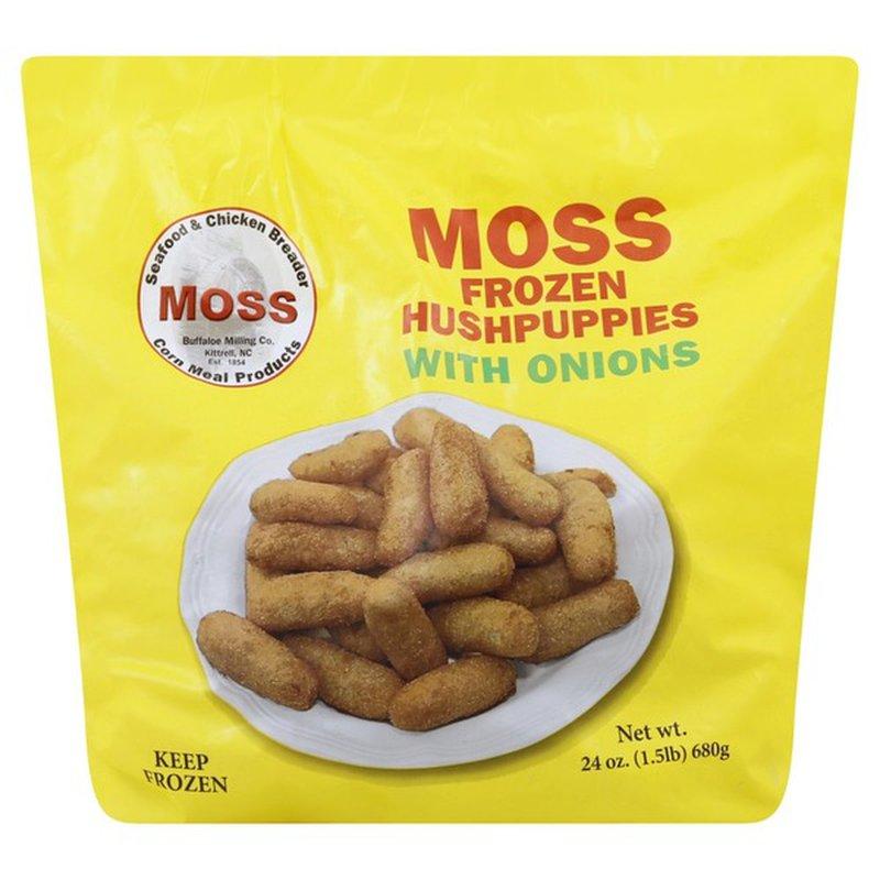 Moss Hush Puppies Frozen With Onions 24 Oz Instacart