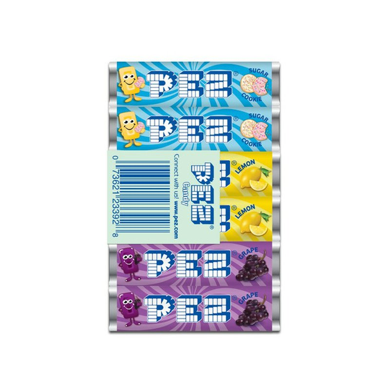 Pez Assorted Candy Rolls