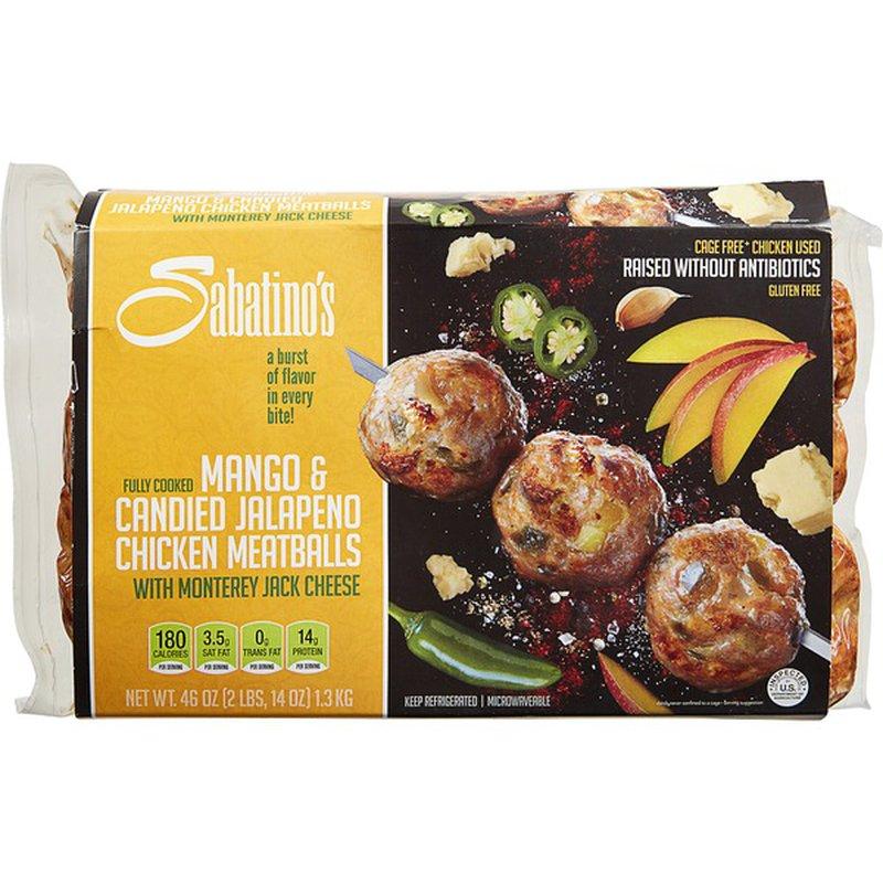 Sabatino Mango & Candied Jalapeno Meatballs