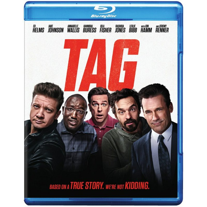 Warner Brothers Tag 2018 Blu-Ray DVD