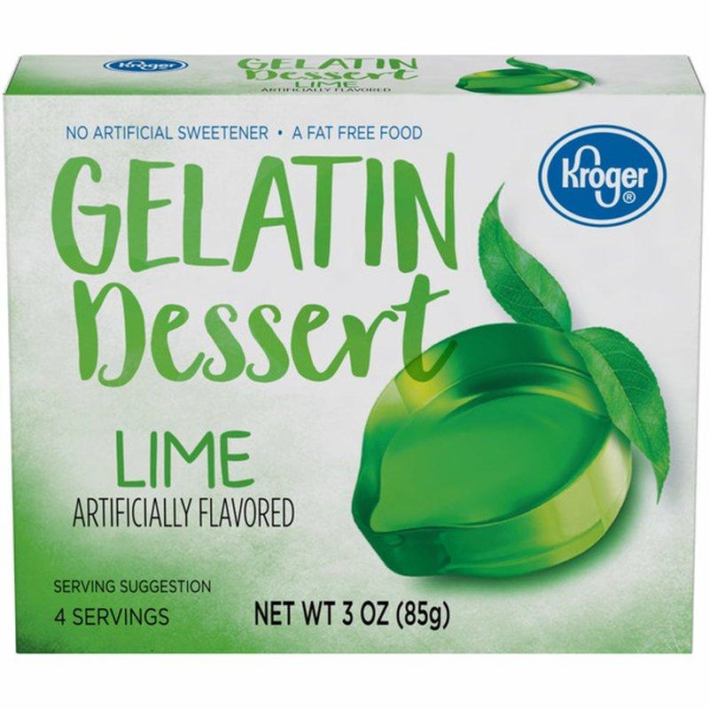 Kroger Gelatin Dessert