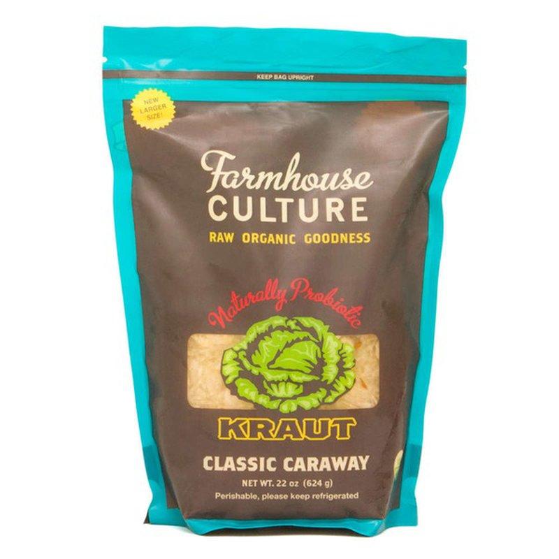 Farmhouse Culture Organic Classic Caraway Kraut