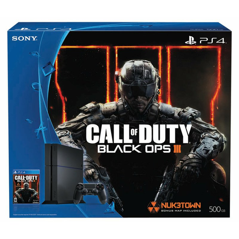 Sony Computer Entertainment Call Of Duty: Black Ops III Sony PlayStation 4 Standard Edition Bundle