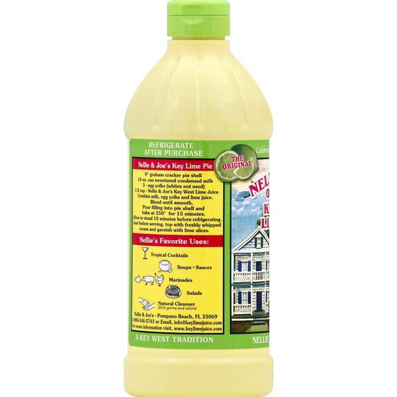 Nellie & Joe's Key West Lime Juice