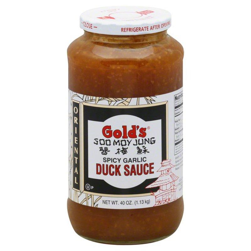 Gold's Duck Sauce Spicy Garlic