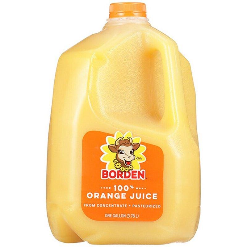 Borden 100% Pure Orange Juice