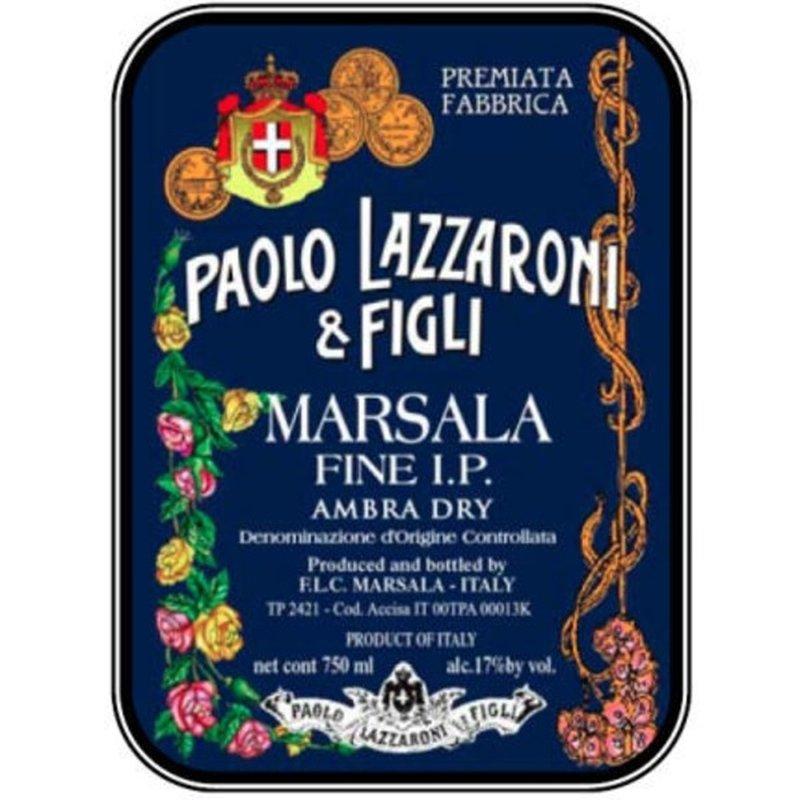 Paolo Lazzaroni & Figli Marsala Fine I.p. Ambra Dry