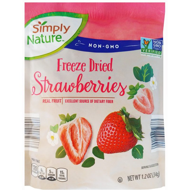 Simply Nature Freeze Dried Strawberries
