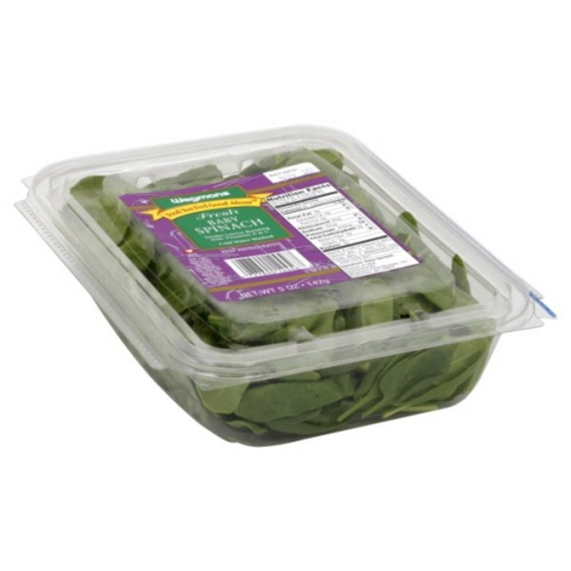 Wegmans Food You Feel Good About Fresh Baby Spinach