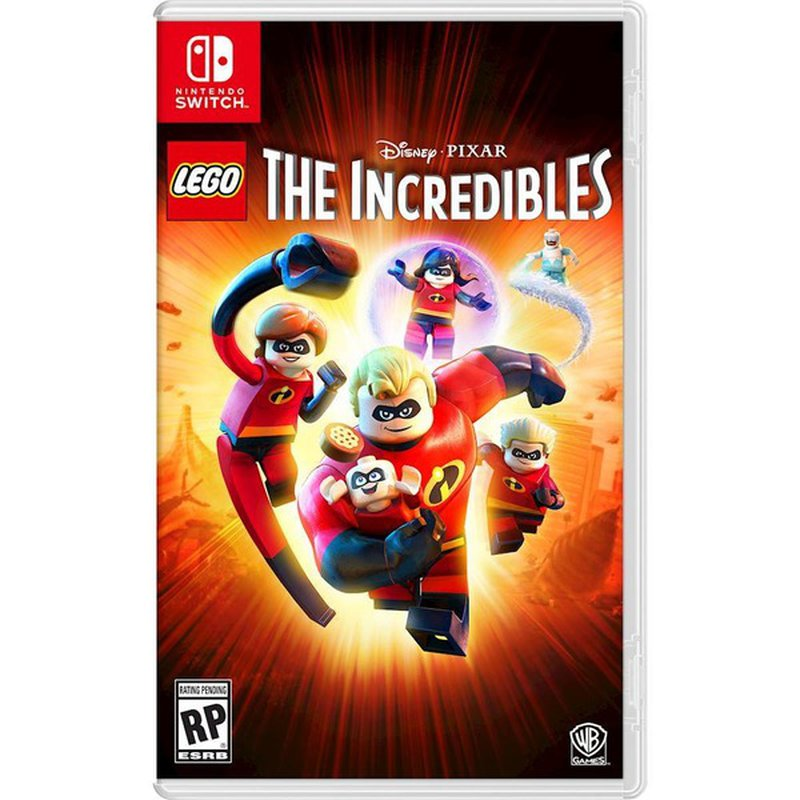 WarnerBrothers Lego Disney Pixar's The Incredibles Video Game for Nintendo Switch
