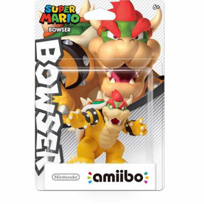 Nintendo  Super Mario Bros Series Bowser Amiibo Figure for Nintendo 3DS and Wii U