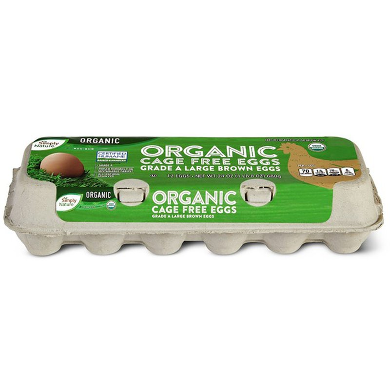 Born Free Organic Brown Eggs