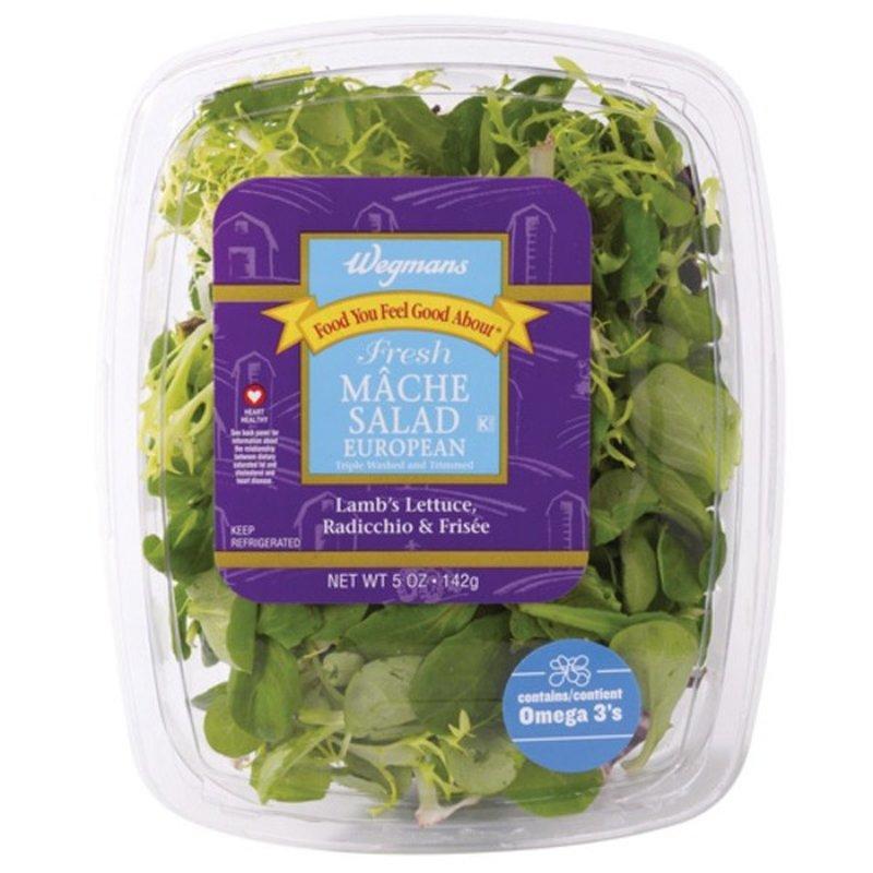 Wegmans Food You Feel Good About Fresh European Mache Salad