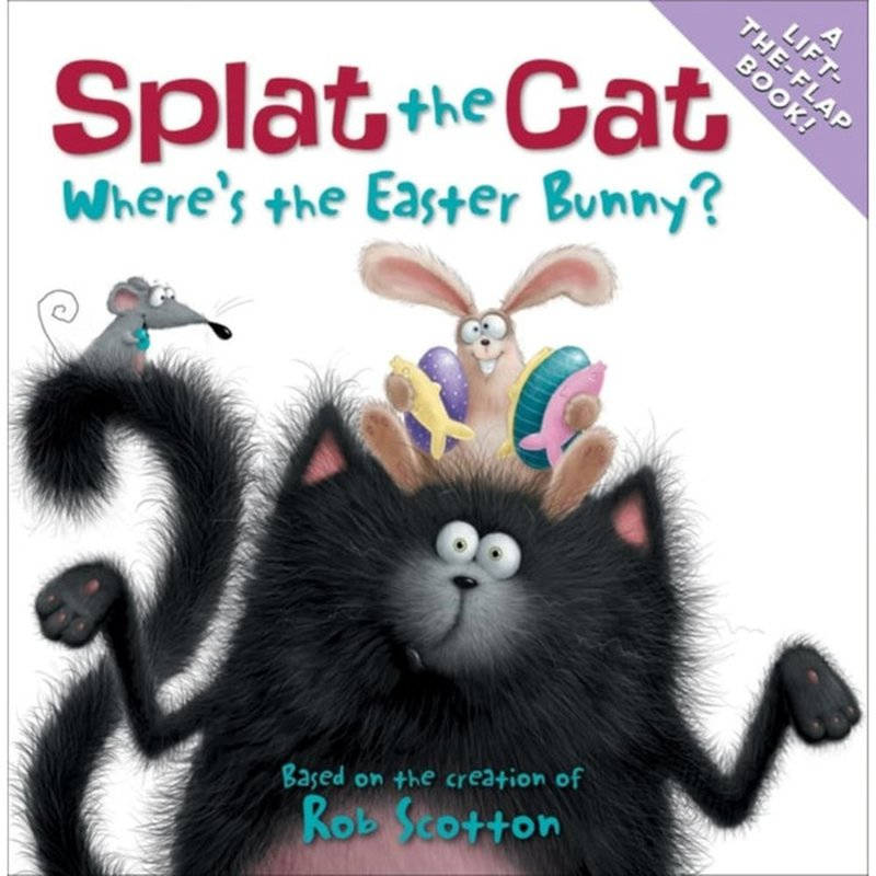 HarperFestival Splat the Cat: Where's the Easter Bunny? Book