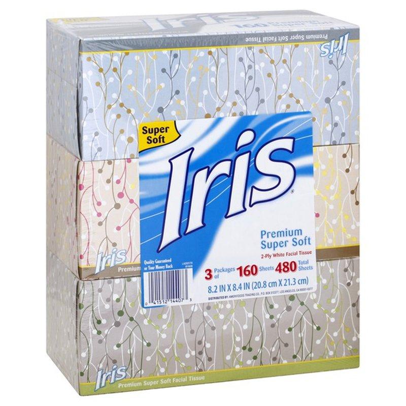 Iris Premium Facial Tissue