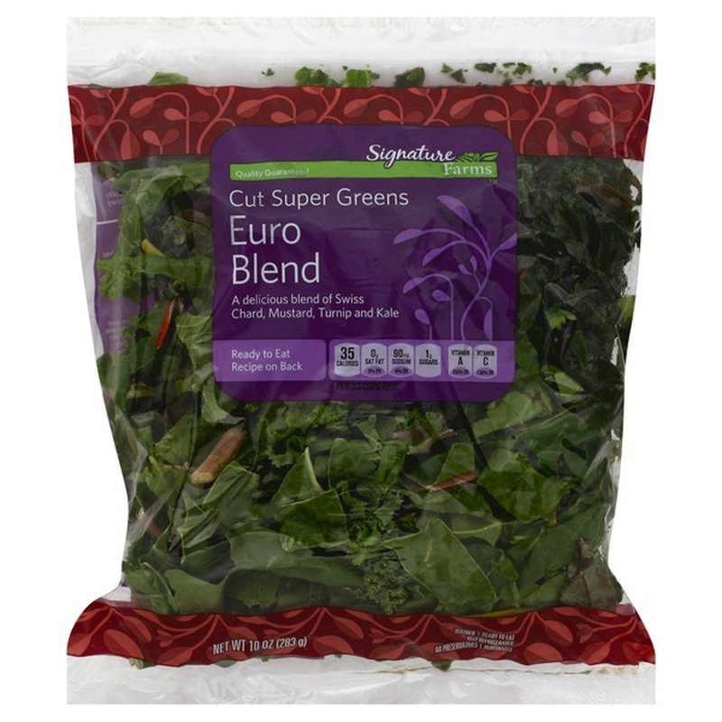 Signature Kitchens Cut Super Greens Euro Blend