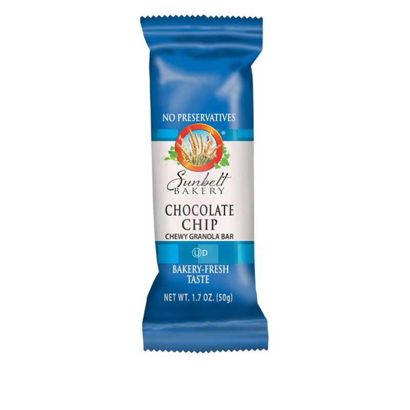 Sunbelt Bakery Chocolate Chip Chewy Granola Bar