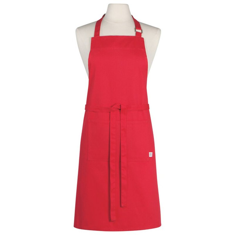 Now Designs Valentine's Day Red Holiday 100% Cotton Twill Apron