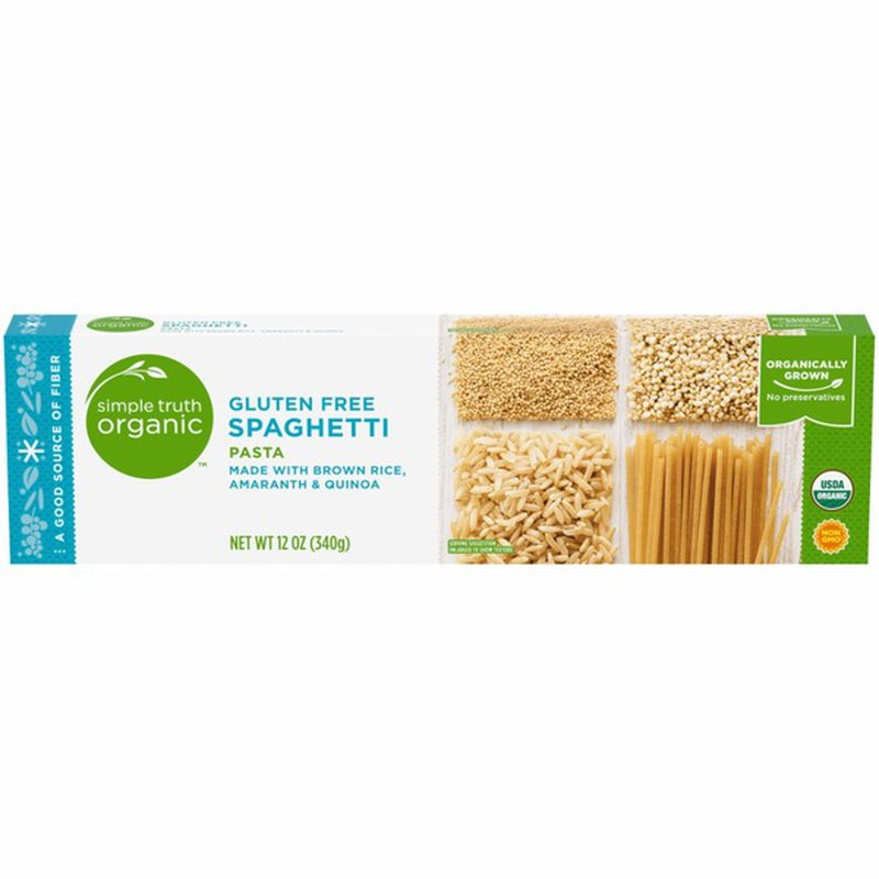 Simple Truth Organic Gluten Free Pasta, Spaghetti