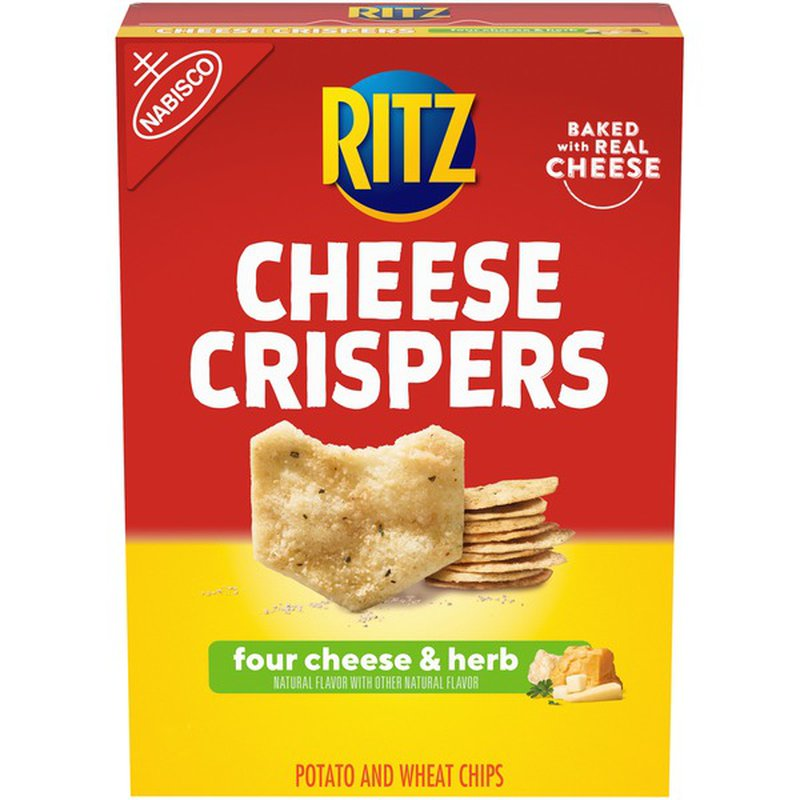 Nabisco Cheese Crispers Four Cheese & Herb Potato & Wheat Chips