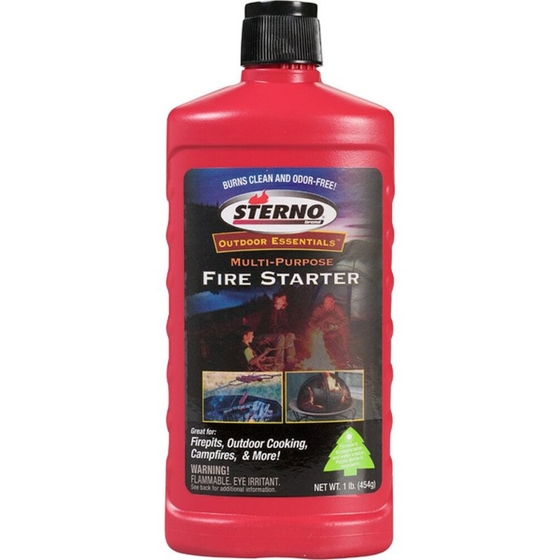 Sterno Green Fire Starter Instant Flame Gel