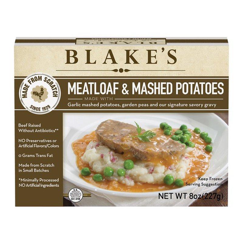 Blake's Meatloaf And Mashed Potatoes (8 oz) - Instacart
