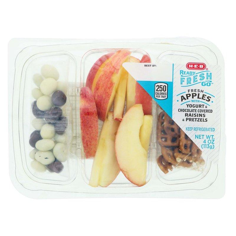 H-E-B Ready, Fresh, Go! Apples Snack Tray