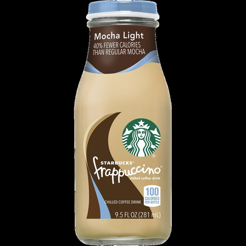 Starbucks Frappucino Mocha Lite Chilled Coffee Drink (9.5 ...