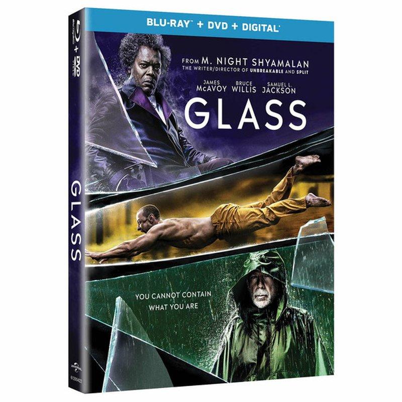 Universal Studios Glass Blu-Ray DVD