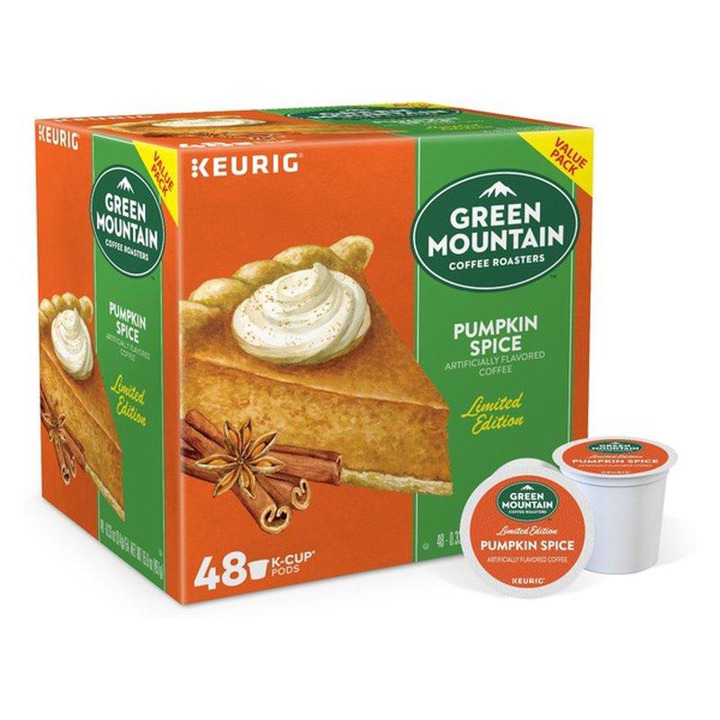 Keurig Green Mountain Coffee Roasters Pumpkin Spice Coffee