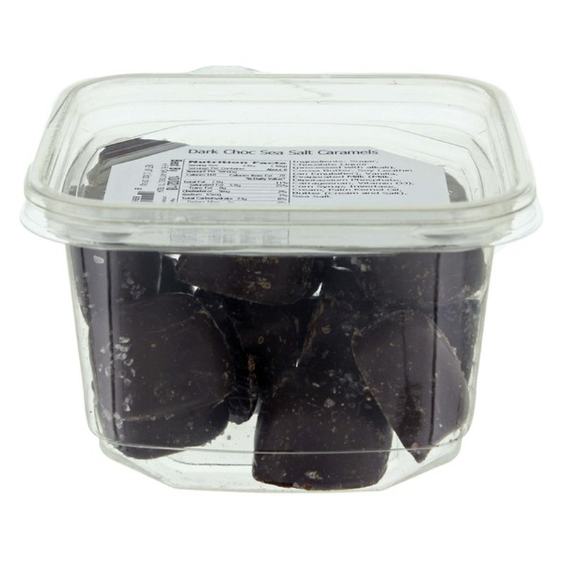 H-E-B Dark Chocolate Covered Sea Salt Caramels
