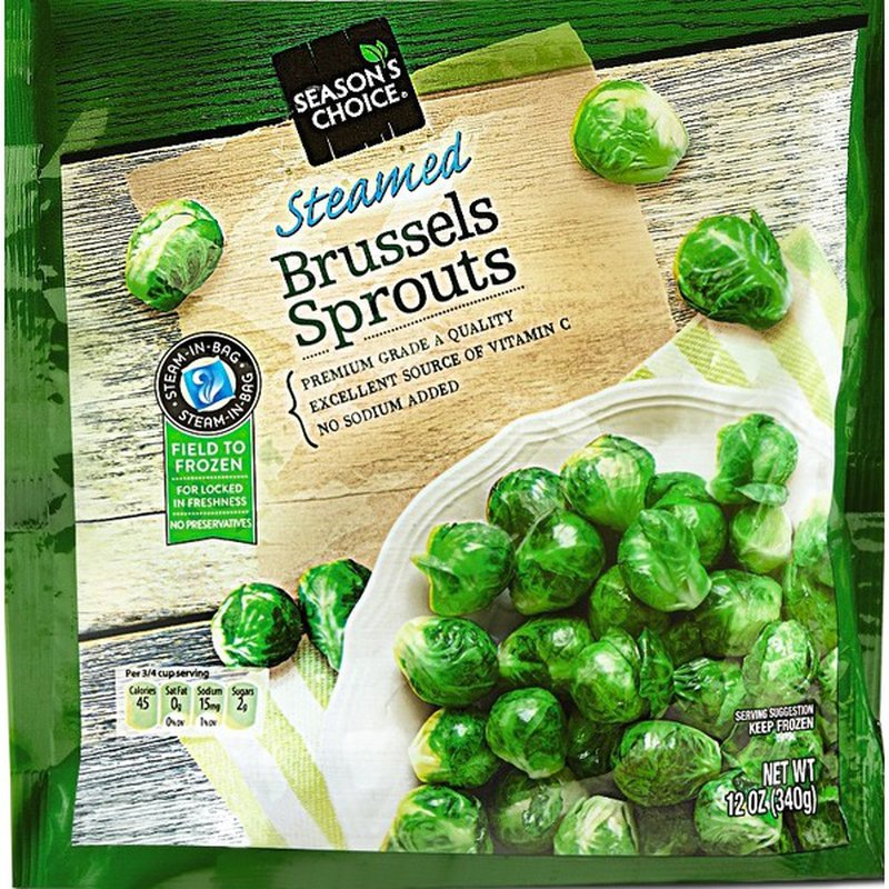 Season's Choice Steamed Brussels Sprouts