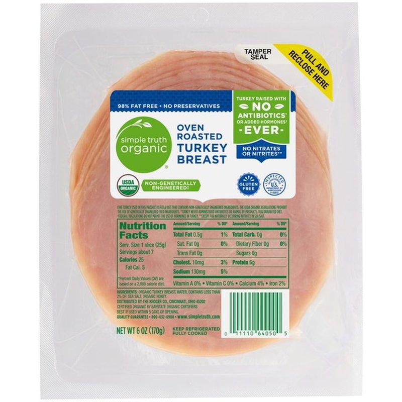Simple Truth Organic Oven Roasted Turkey Breast