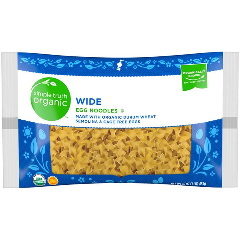 Simple Truth Organic Wide Egg Noodles