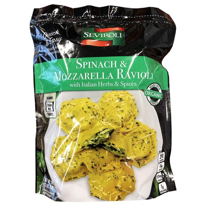 Seviroli Spinach & Mozzarella Cheese Ravioli