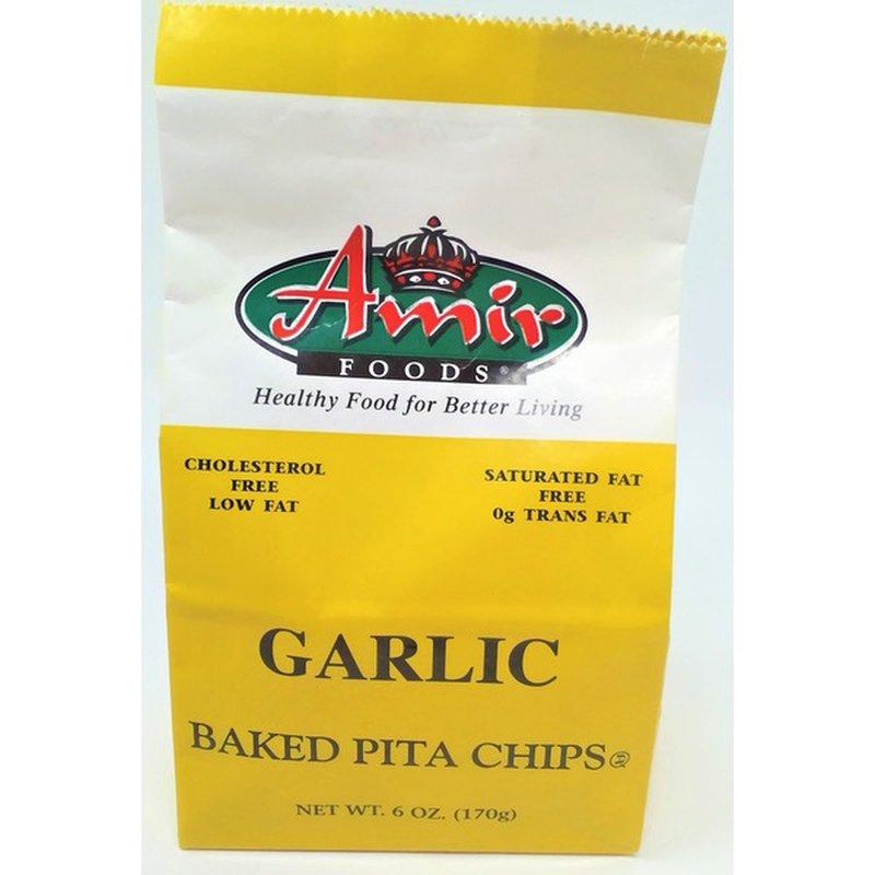 Amir Foods Garlic Pita Chips