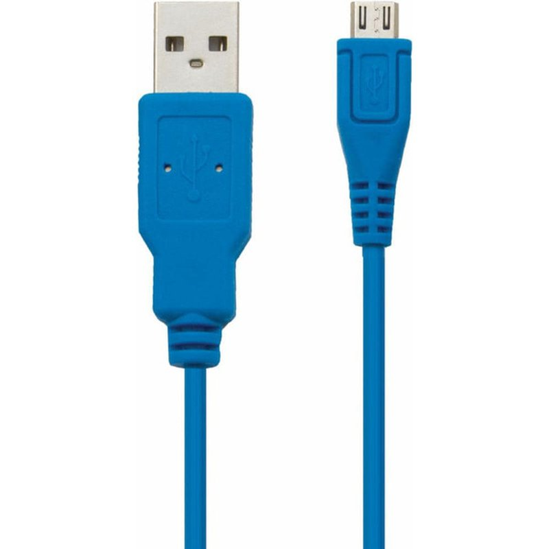 Cell Candy Tropical Blue USB To Micro USB Sync & Charge Cable