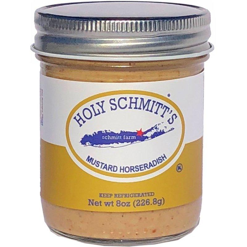 Holy Schimitt's Horseradish Mustard