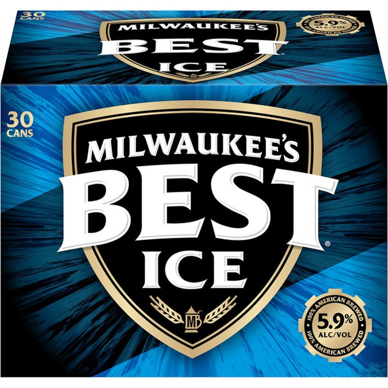Milwaukee's Best Ice American Lager Beer Can