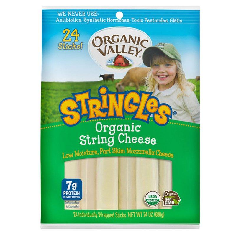 Organic Valley Stringles Organic Mozzarella String Cheese