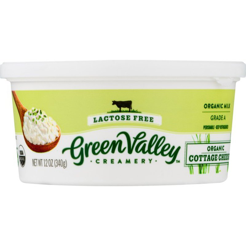 Green Valley Creamery Cottage Cheese Lactose Free Organic 12 Oz Instacart