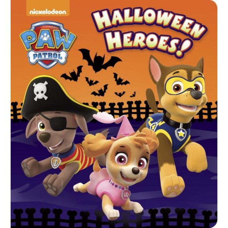 Random House Paw Patrol Halloween Heroes Board Book