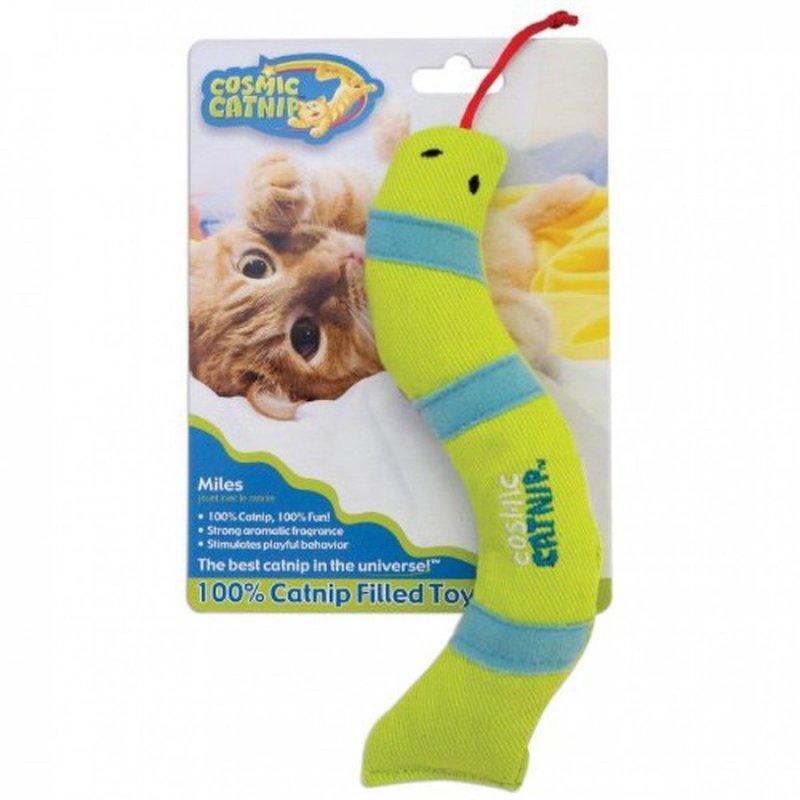 Cosmic Catnip Toy Catnip Filled Snake