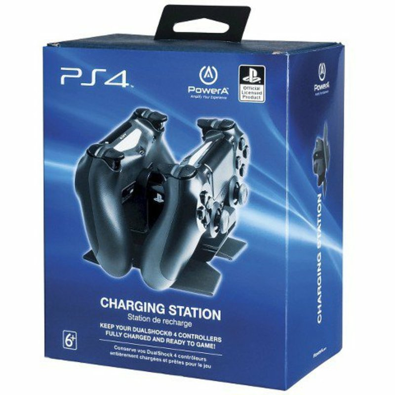 Power A Dual Shock 4 Controller Charging Station for Playstation 4