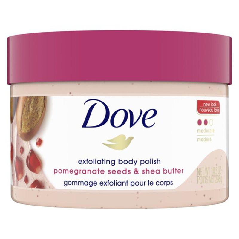 Dove Body Scrub Pomegranate And Shea Butter 10 5 Oz Instacart